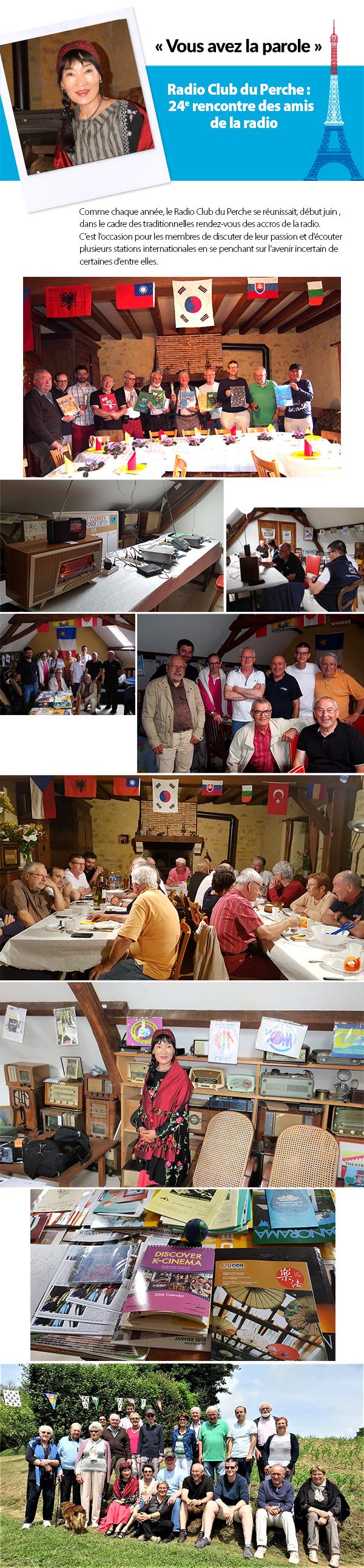 Comme chaque année, le Radio Club du Perche se réunissait, début juin , dans le cadre des traditionnelles rendez-vous des accros de la radio. C'est l'occasion pour les membres de discuter de leur passion et d'écouter plusieurs stations internationales en se penchant sur l'avenir incertain de certaines d'entre elles.