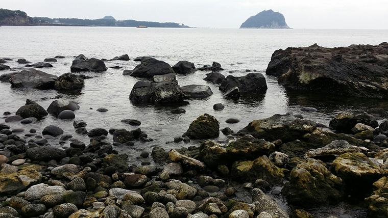 Jaguri Beach in Seogwipo, Jeju Island