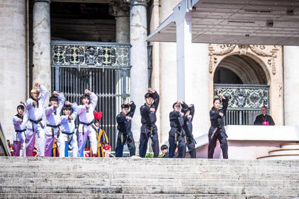 ¿Entrará el taekwondo en El Vaticano?