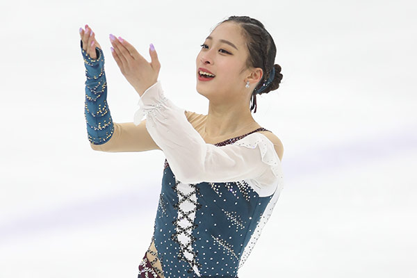 Yu Young, nueva promesa en patinaje artístico