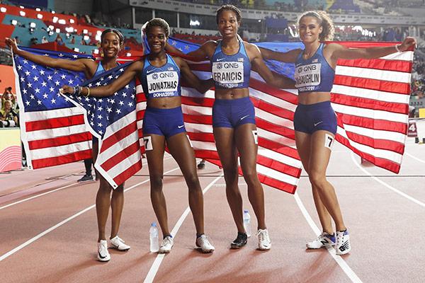 EEUU, líder en atletismo sin Usain Bolt