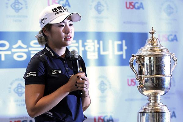 Lee Jeong Eun: premio Novata del Año en la LPGA