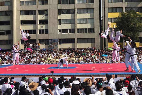 50 años de taekwondo en México