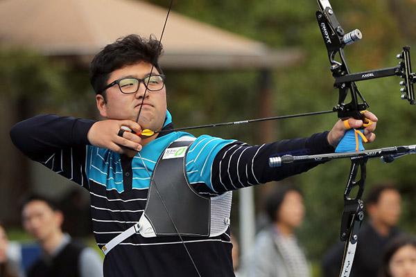 Corea logra 9 victorias en tiro con arco