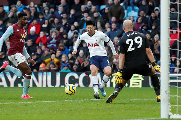 Son Heung Min firma 50 goles en Inglaterra