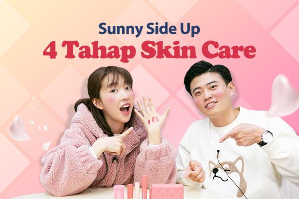 4 Tahap Skin Care