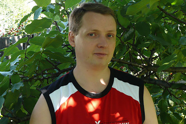 Андрей Чуб из посёлка Фащевка, Луганской области