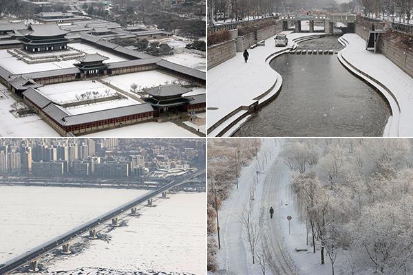 Seoul ganz in weiß