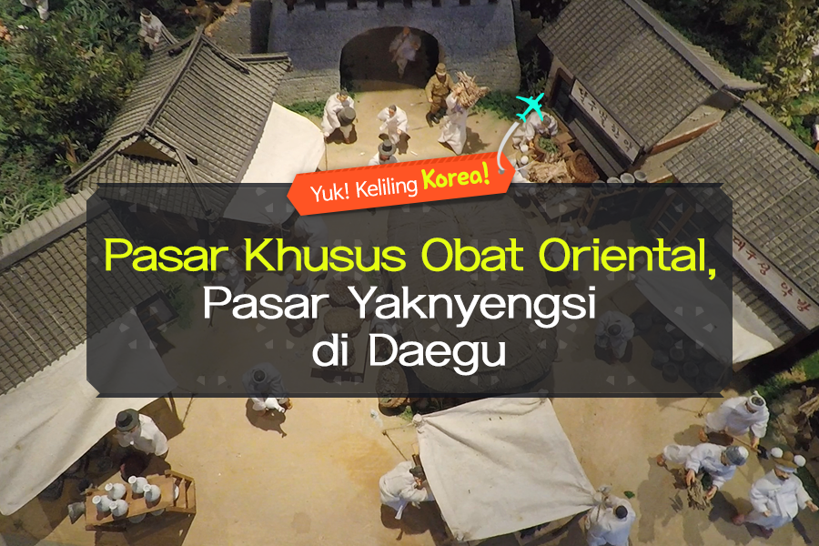 #03. Pasar Khusus Obat Oriental, Pasar Yaknyengsi di Daegu