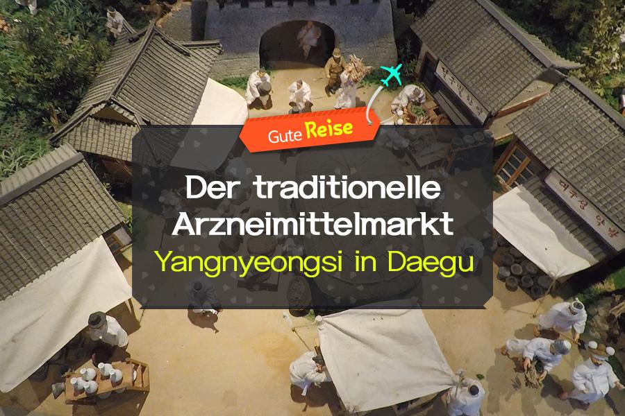 #03. Der traditionelle Arzneimittelmarkt Yangnyeongsi in Daegu