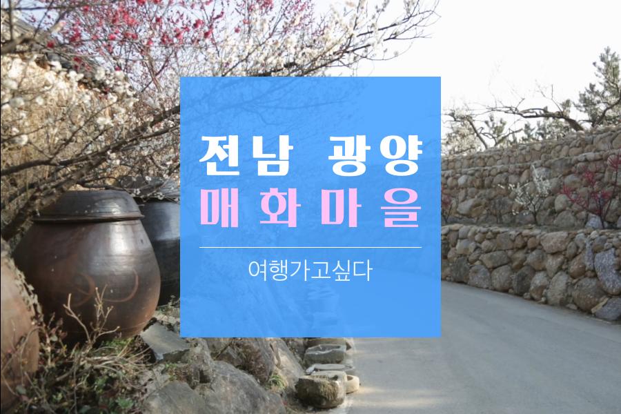 #05. 전남 광양 매화마을