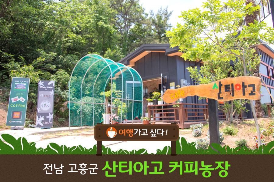 #15. 전남 고흥군 산티아고 커피농장