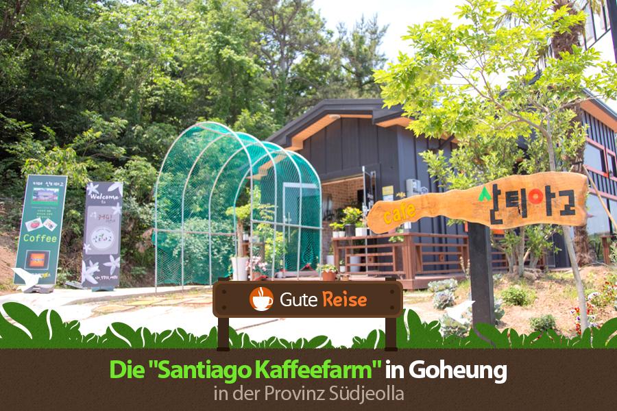 """#15. Die """"Santiago Kaffeefarm"""" in Goheung in der Provinz Südjeolla"""