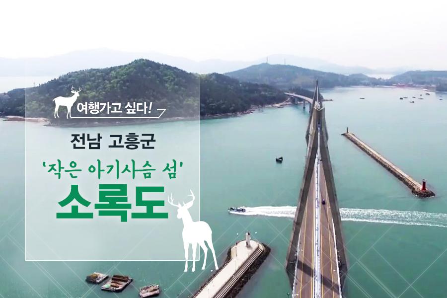 #17. 전남 고흥군 '작은 아기사슴 섬' 소록도