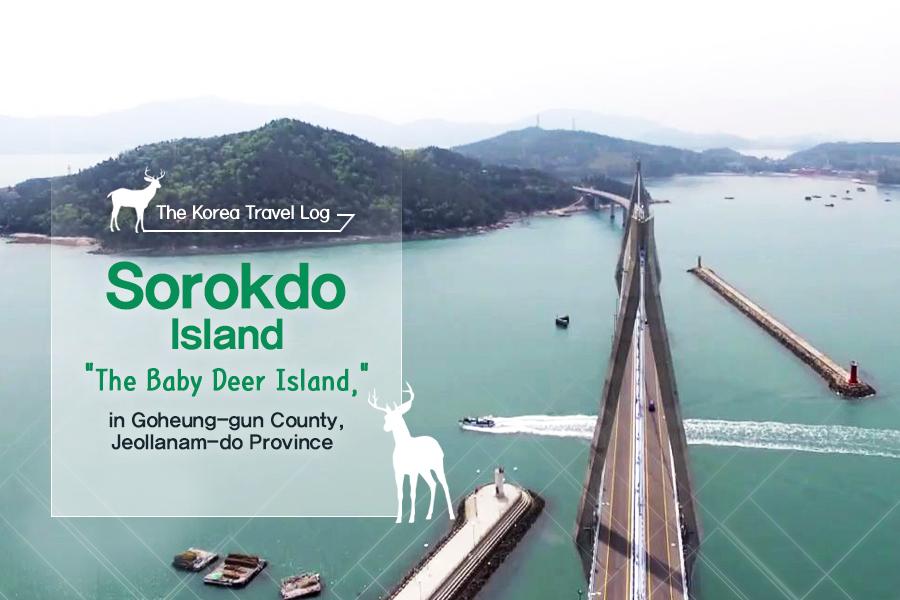 "#17. Sorokdo Island, ""The Baby Deer Island,"" in Goheung-gun County, Jeollanam-do Province"