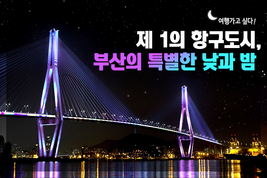 #28. 제 1의 항구도시, 부산의 특별한 낮과 밤