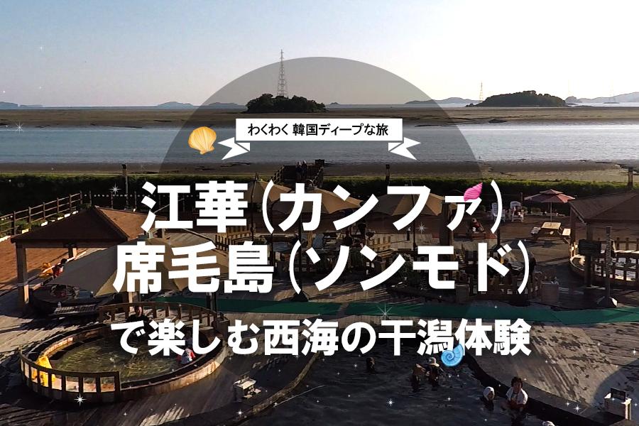 #30. 江華(カンファ)席毛島(ソンモド)で楽しむ西海の干潟体験