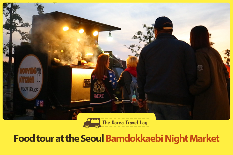 #35. Food tour at the Seoul Bamdokkaebi Night Market