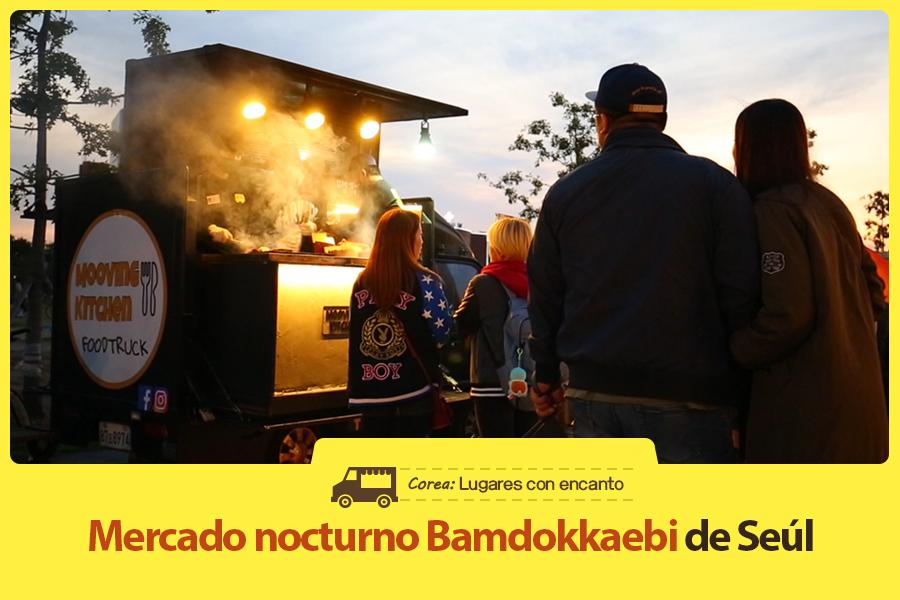 #35. Mercado nocturno Bamdokkaebi de Seúl
