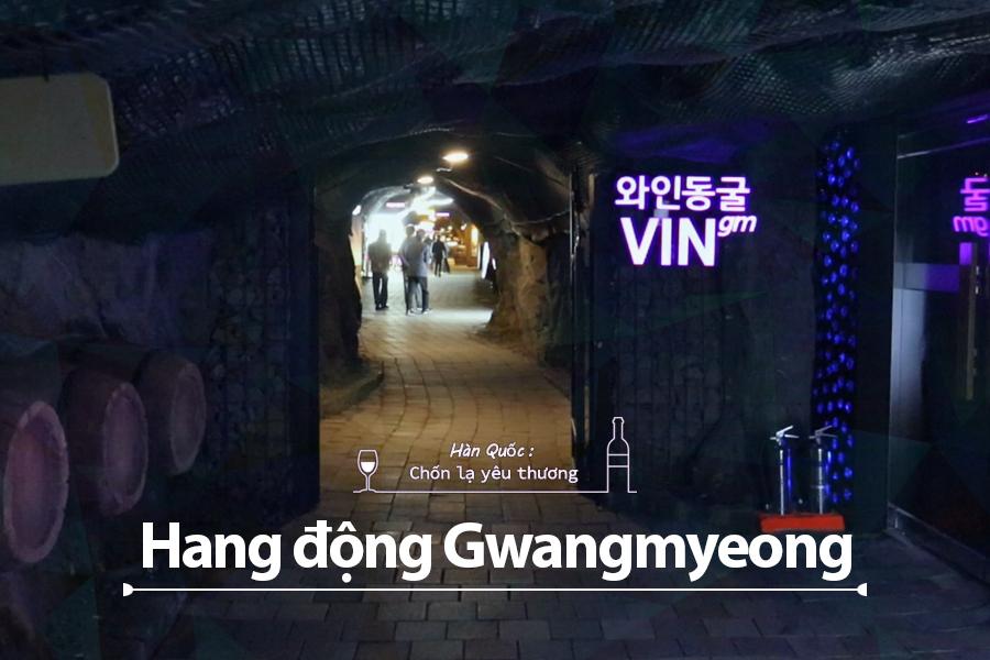 #36. Hang động Gwangmyeong – công viên chủ đề hang động gần thủ đô Seoul