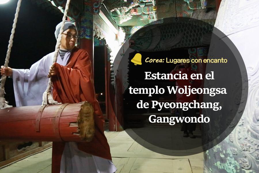 #44. Estancia en el templo Woljeongsa de Pyeongchang, Gangwondo
