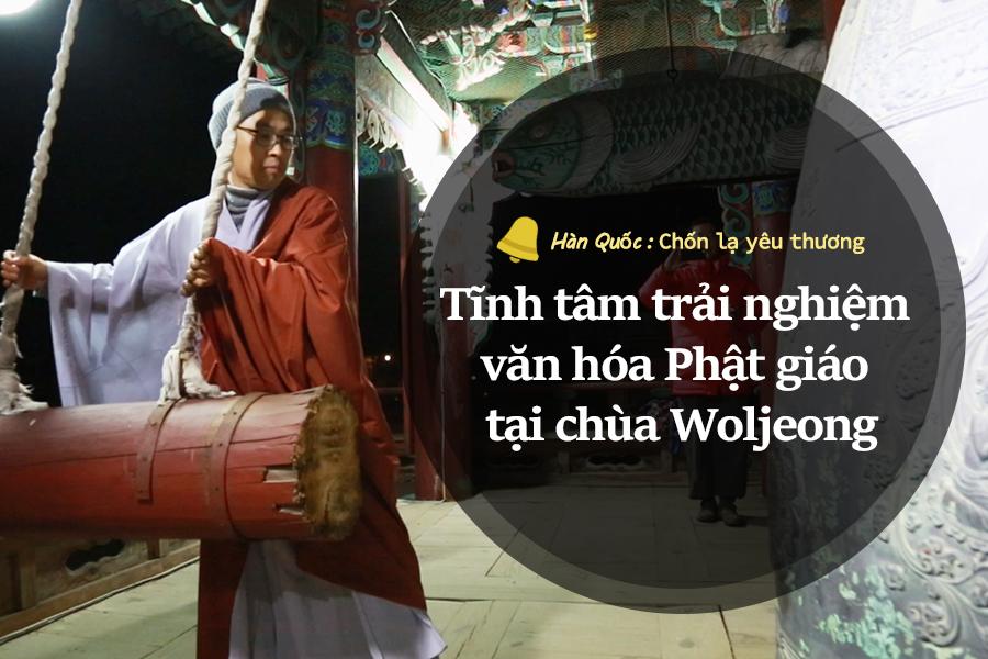 #44. Tĩnh tâm trải nghiệm văn hóa Phật giáo tại chùa Woljeong
