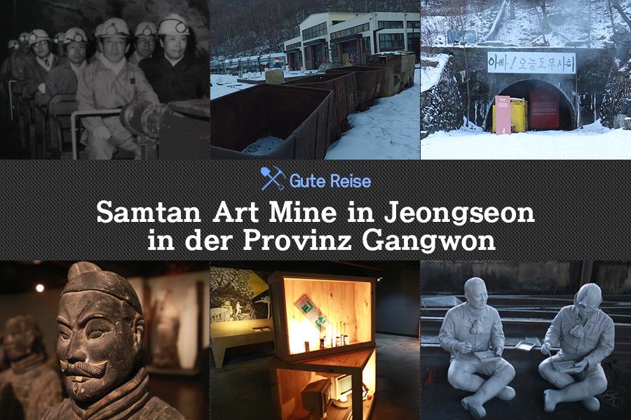 #45. Samtan Art Mine in Jeongseon in der Provinz Gangwon