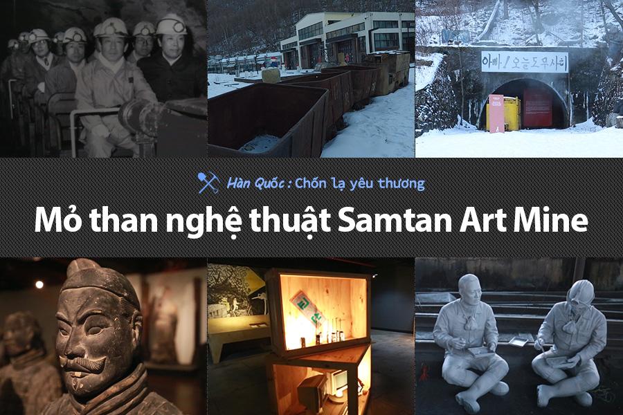 #45. Mỏ than nghệ thuật Samtan Art Mine