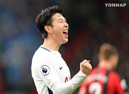 Son Heung-min unter den besten Zehn der Premier-League-Torschützenliste