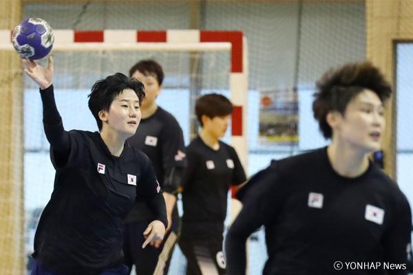 韩国女子手球队获U-20手球第三名