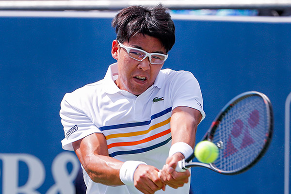 Tennis : Chung Hyeon forfait face à Novak Djokovic au Canada