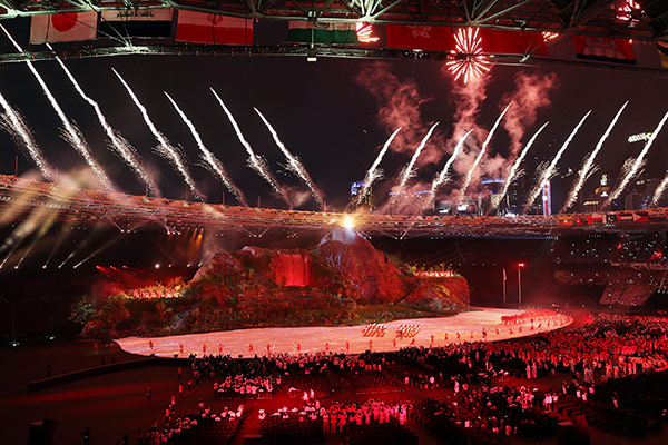 韩国派807人代表团参加2018亚运会 力争综合排名第二
