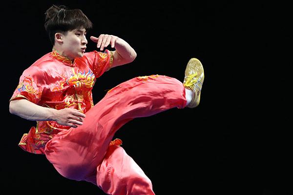 Jeux asiatiques : le champion sud-coréen de wushu chang quan termine 12e