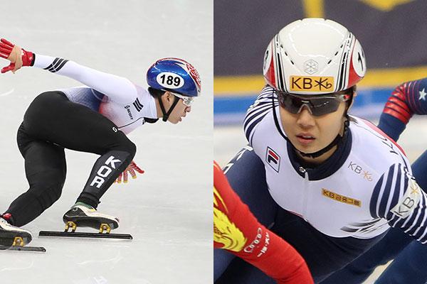 林孝俊、金健熙双获短道速滑世界杯1500米男女金牌