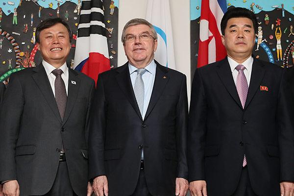 南北韩组联队参加东京奥运会