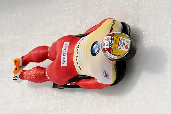 Skeleton : Yun Sung-bin gagne le bronze en 7e manche de la Coupe du monde