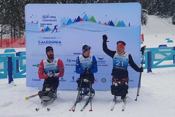 Ski-Langläufer Sin Eui-hyun gewinnt Bronze bei Ski Nordisch-WM für Parasportler