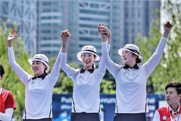 Südkoreanische Bogenschützen gewinnen bei Weltcup in Schanghai neun Medaillen
