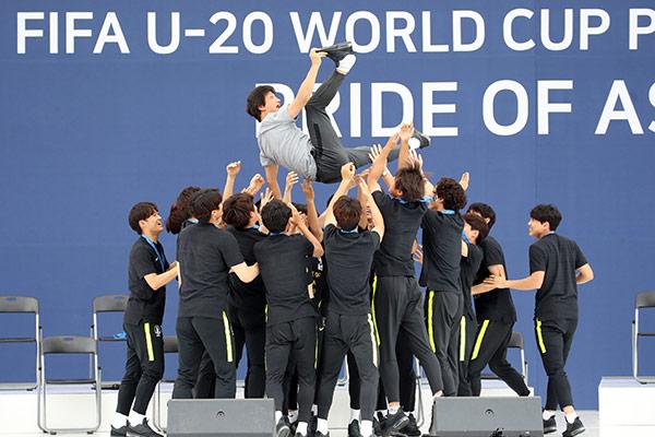 Südkorea beendet U-20-Fußball-WM als Zweite