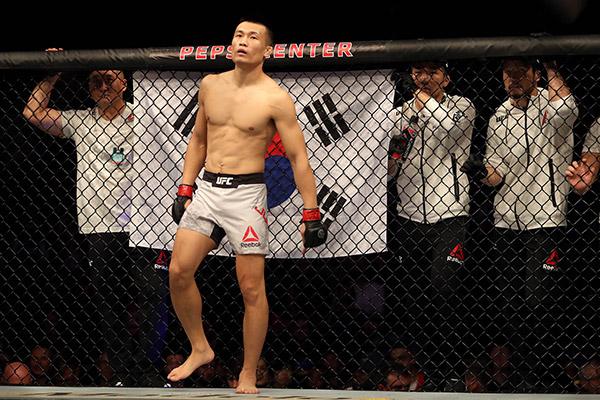 MMA-Kämpfer Jung Chan-sung besiegt Moicano mit Erstrunden-Knockout