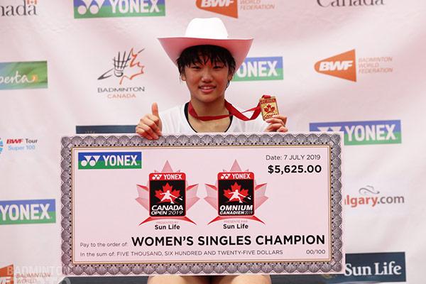 Badmintonspielerin Ahn Se-young gewinnt Canada Open