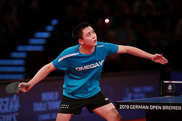 Tischtennisspieler Jung Young-sik gewinnt Bronze bei German Open