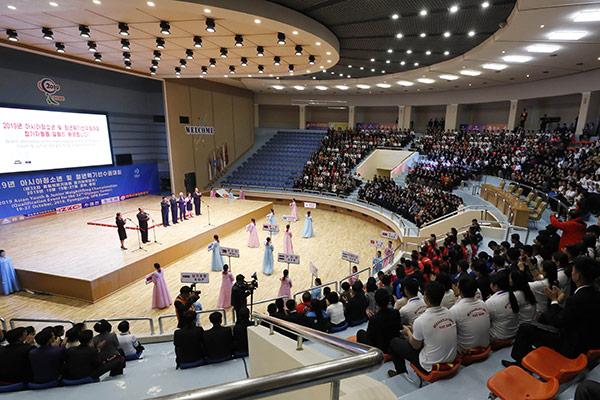 Südkoreanische Gewichtheber nehmen an Junioren-Asienmeisterschaft in Pjöngjang teil