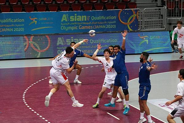 Südkoreanische Handballer gewinnen Olympia-Qualifikationsspiel gegen Kuwait