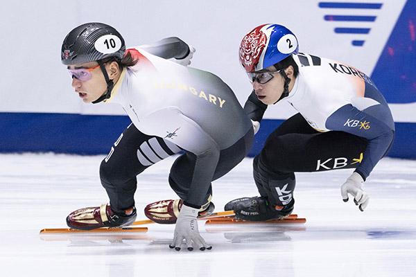 Shorttrack: Südkoreas 5000-Meter-Staffel in Montreal siegreich