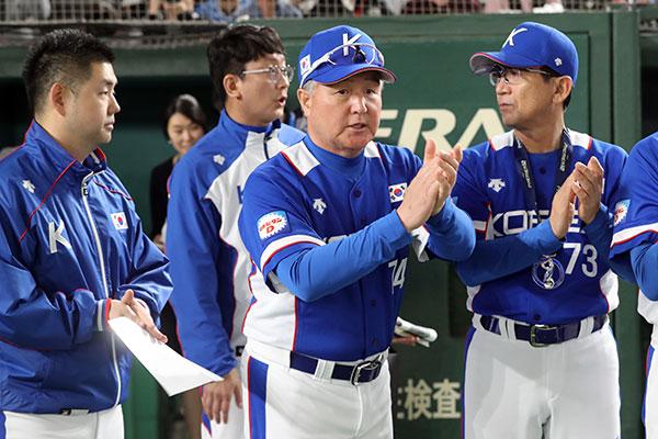 Südkoreanische Baseballmannschaft erreicht zweiten Platz bei Premier 12