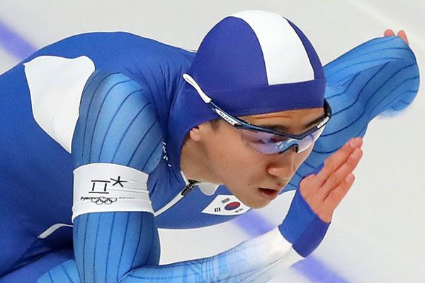 Shorttrack-Läufer Kim Jun-ho gewinnt Weltcup in Minsk über 500-Meter