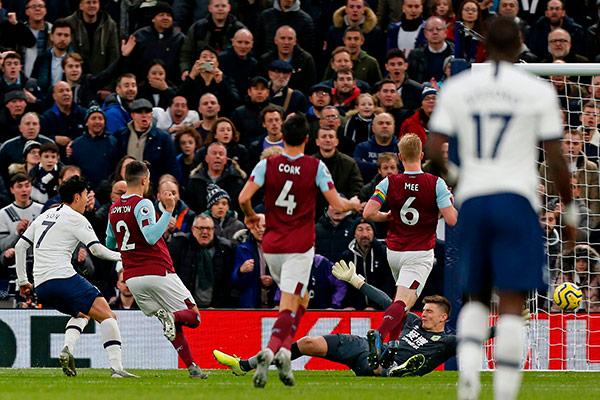 Son Heung-min begeistert Tottenham-Fans mit Traumtor