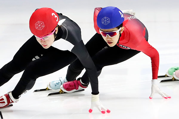 Shorttrack-Läuferin Seo Hue-min gewinnt Weltcup-Silber