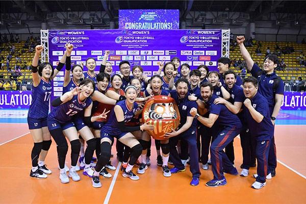 Südkoreanische Volleyballerinnen lösen Olympiaticket